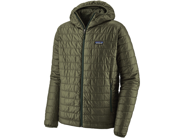 Patagonia Nano Puff Veste Homme, industrial green